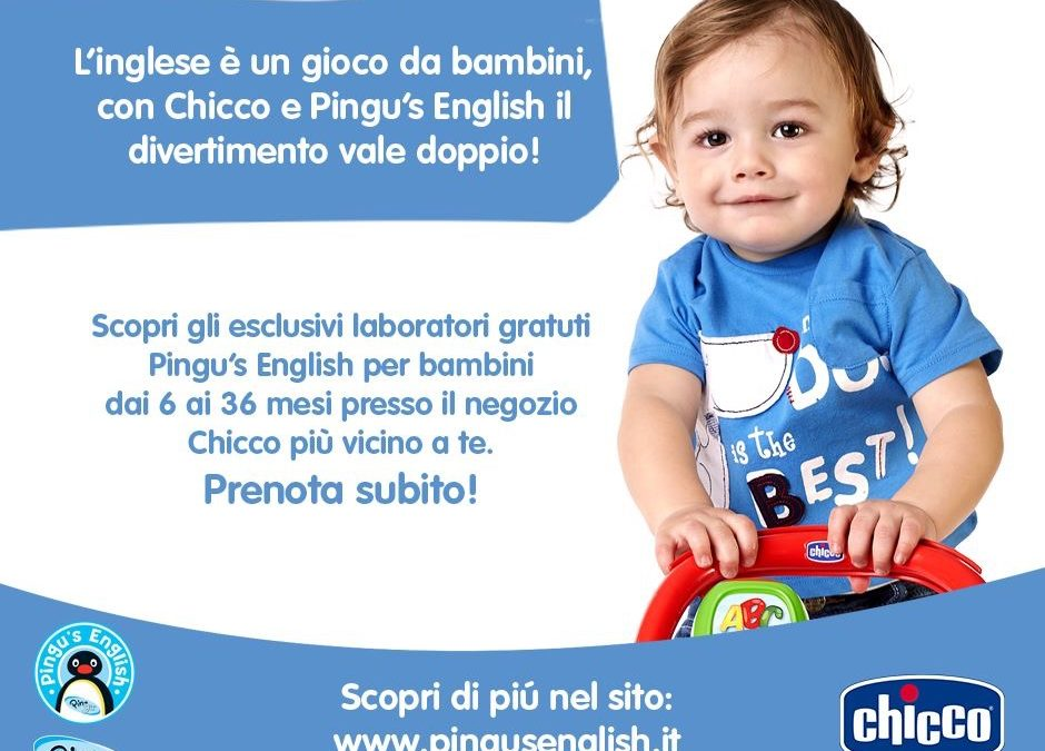 Con Chicco e Pingu's English il divertimento vale doppio